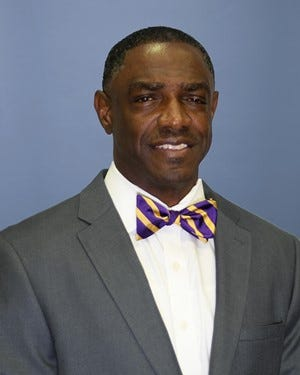 Eric Dooley, head coach of Prairie View A&M Panthers football.