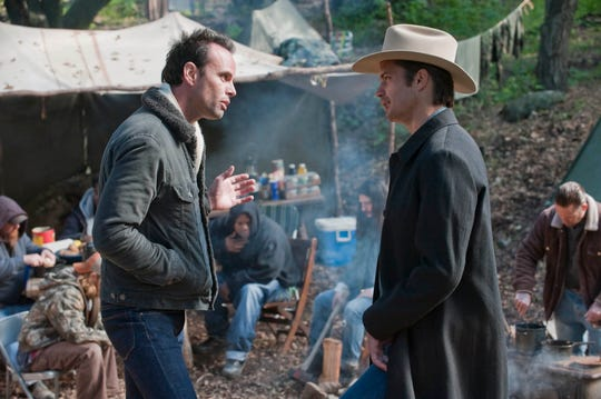 "FX's ""Justified"" starred Walton Goggins and Timothy Olyphant."