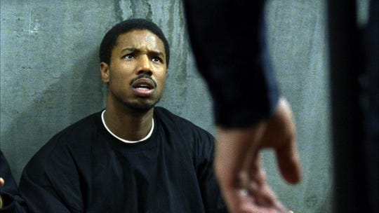 "Michael B. Jordan in a scene from ""Fruitvale Station."""