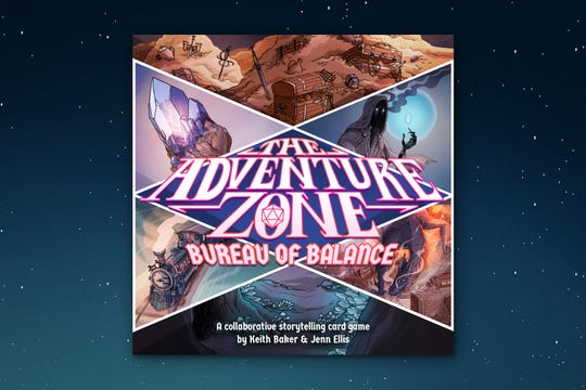 """The Adventure Zone: Bureau of Balance,"" a cooperative card game inspired by the hit podcast, is set to be released in 2020."