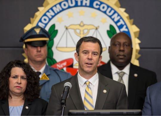 Monmouth County Prosecutor Christopher Gramiccioni announces an Ocean Township man has been charged with the murder of Jacqueline Terrulli. Ronald Teschner, 49, of Ocean Township has been charged with first degree murder, first degree felony murder, second degree disturbing human remains, first degree robbery, second degree aggravated arson and three counts of theft.   Freehold, NJWednesday, December 11, 2019