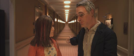 """Lisa (voiced by Jennifer Jason Leigh) and Michael (David Thewlis) in a scene from """"Anomalisa."""""""