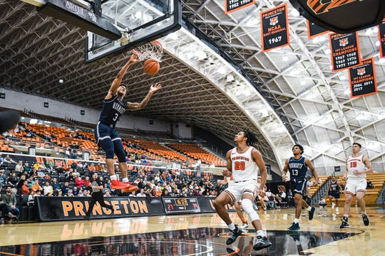 Monmouth and Princeton played for the fourth straight year on Tuesday night, with both schools hoping to continue the rivalry.