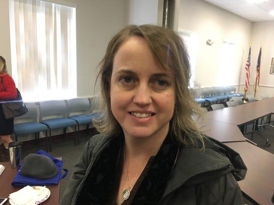 Ashley Featherstone is interim director of the WNC Regional Air Quality Agency.
