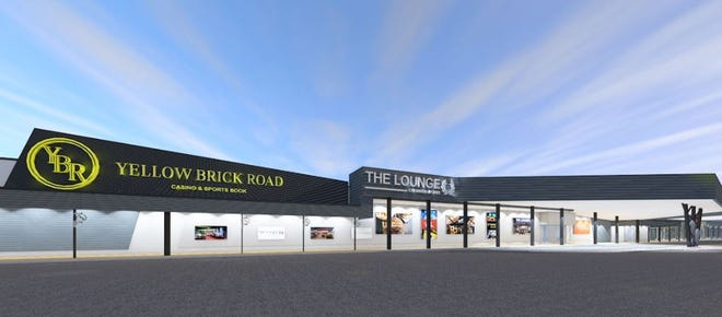 The Yellow Brick Road Casino in central New York announced expansion plans Dec. 11, 2019. Here is a rendering of the new amenities