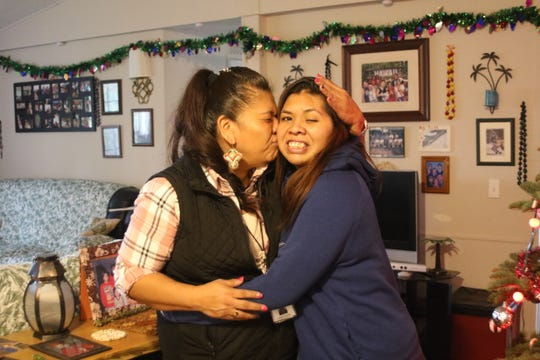 Patricia Selam, 48, and her daughter, Leilani Fontes, 31. Both went through PCAP, a program helping young mothers who struggle with substance abuse.
