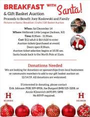 Holbrook Little League fundraiser for Joey Koslowski