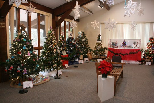 The Festival of Trees at the Environmental Education Center, 190 Lord Stirling Road in the Basking Ridge section of Bernards, continuesuntil Sunday, December 29.