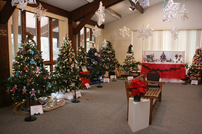 The Festival of Trees at the Environmental Education Center, 190 Lord Stirling Road in the Basking Ridge section of Bernards, continues until Sunday, December 29.