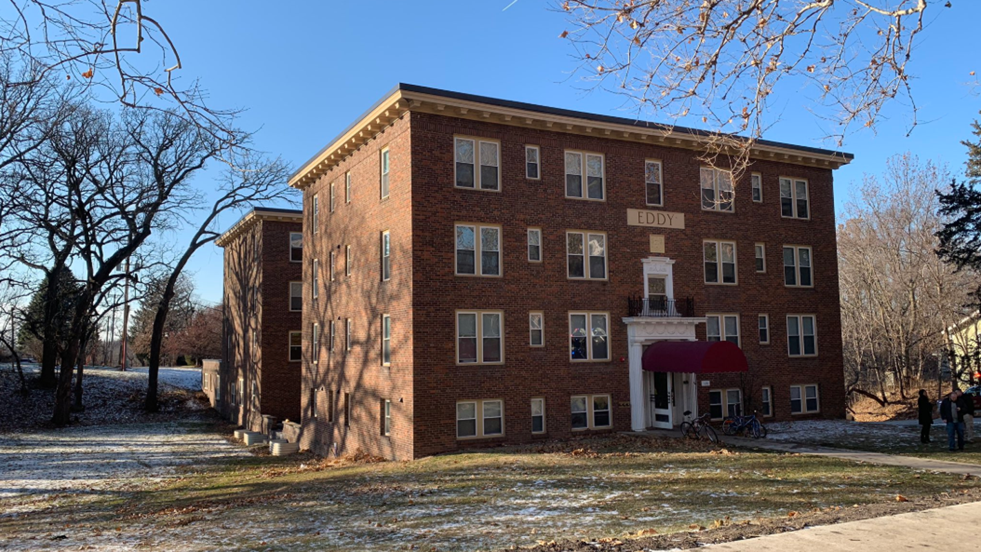1 displaced after fire at Des Moines' Eddy Building — where 4 were killed 2 years ago