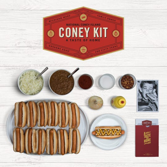 National Coney Islands Coney Kits come with 12 or 24 hot dogs.