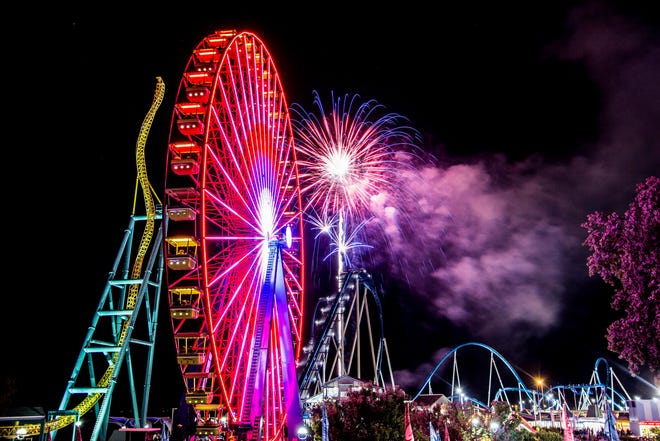Ohio Gov. Mike DeWine announced Friday that amusement parks, casinos, racinos and water parks can reopen June 19, including Cedar Point and Kings Island.