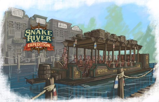 Cedar Point's Snake River Expedition