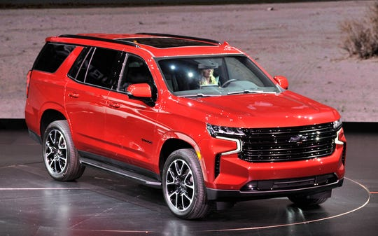 The Chevy Tahoe RST makes its debut.