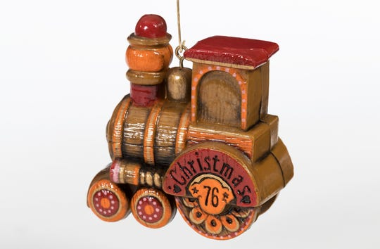 This Hallmark Keepsake Ornament dates back to 1976. It will be on display at The Henry Ford.