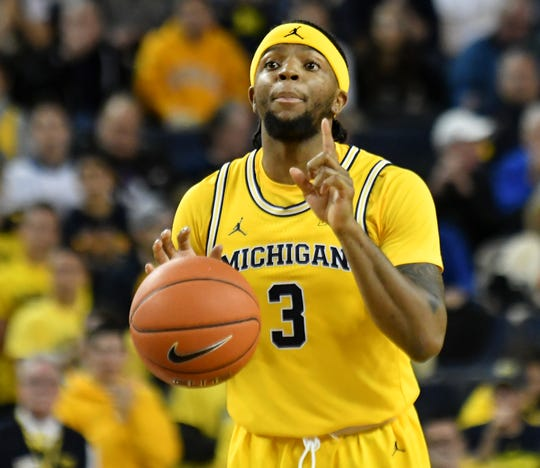 Michigan guard Zavier Simpson's 8.7 assists a game rank No. 2 in the nation.