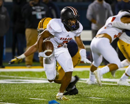 Belleville's Andre Seldon had six interceptions while breaking up three passes from his secondary position.