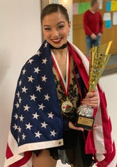 Newburgh's Olivia Taylor won a gold medal at the IDO World Championship dance competition in Poland last weekend.