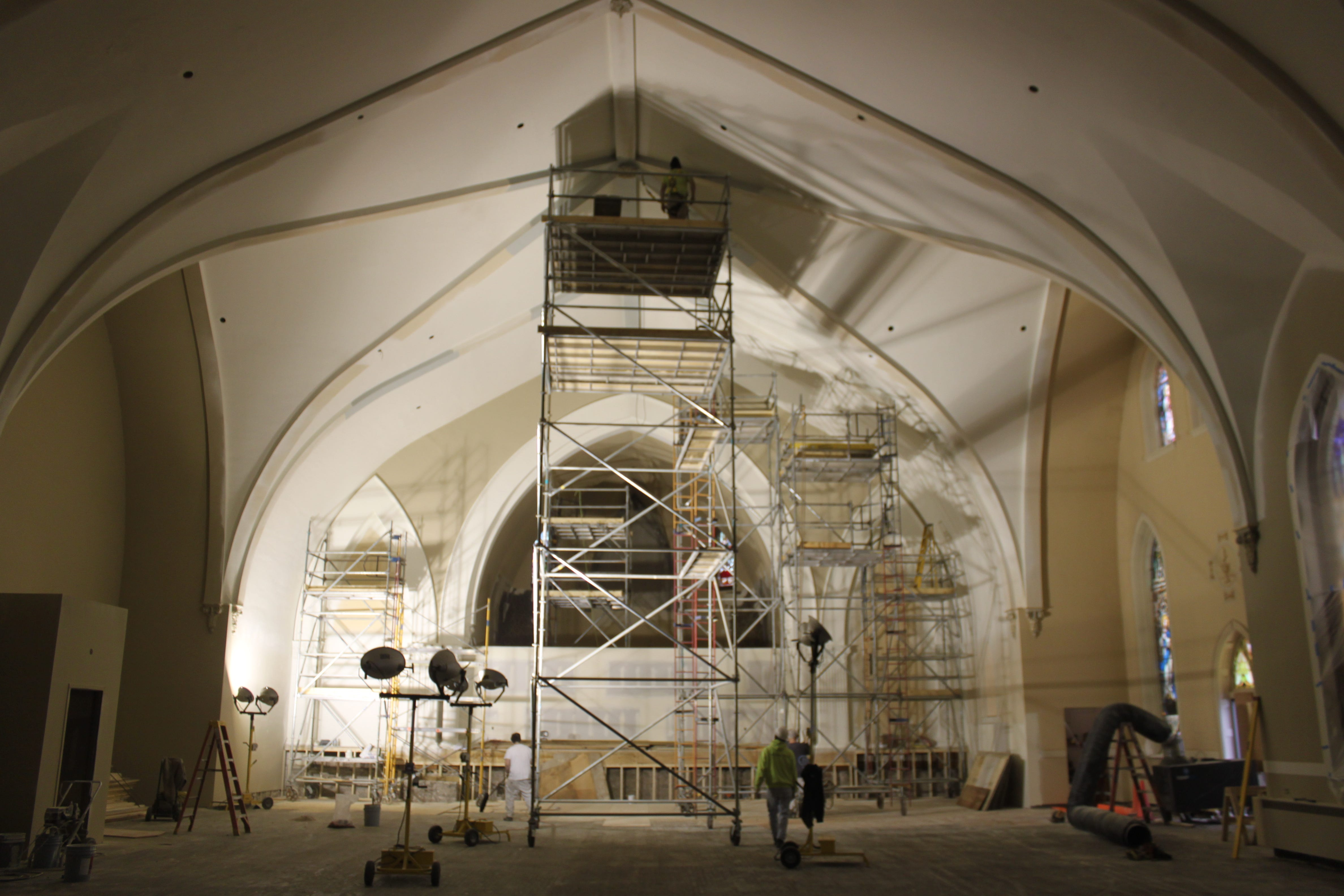 St Mary In Green Bay Renovation Will Bring Back Its Old Glory