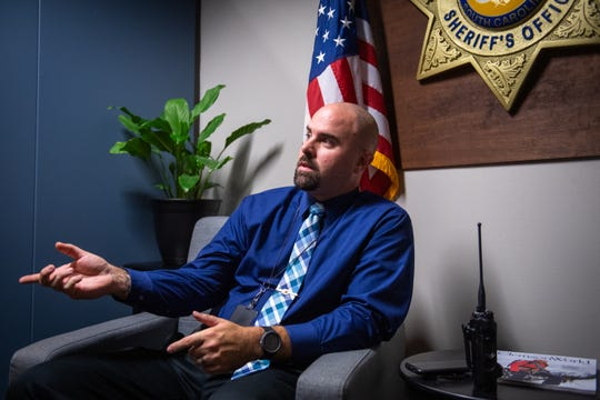 Greenville County Sheriff's Office Master Deputy Greg Porter is a Marine Reserve veteran who served from 2010 to 2014 when he was discharged after being shot.