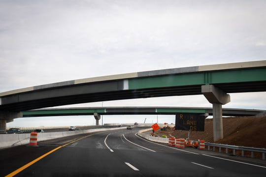 The Gateway Project I-85 overpasses on I-385, Dec. 10, 2019.