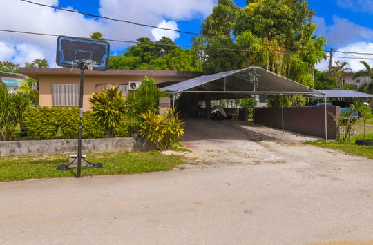 A home just off Pangelinan Street in Mangilao, where Guam Police Department officers responded to an injured person complaint at the residence early Wednesday morning. A man, about 40 years of age, was transported to the Naval Hospital Guam where he was later pronounced dead, said Sgt. Paul Tapao, GPD spokesman.