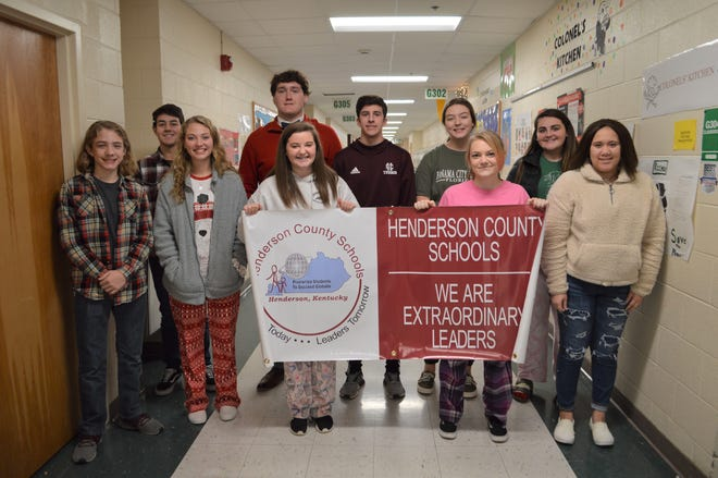 HCHS November 2019 Students of the Month include, front Row:  Tyler Brocato, Jaylynn  Lyons, Chasity Bryant, Mylie Polley, and Betsy Wood. Back Row:   Jackson Hutto, Koby Reed, Bryce Dhom, Kendall Pullum, and Grace Maish. Not Pictured:  Noah Curry, Sophia Margelot