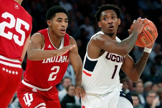 IU basketball leaves Madison Square Garden with hard-fought win over UConn