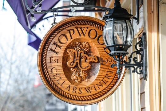 Hopwood Cellars Winery, 12 E. Cedar St., Zionsville, IN 46077, Tuesday, Dec. 10, 2019.