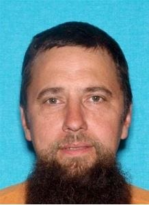 David Earl Doyle, 45, is wanted for aggravated assault of a police officer and other charges after he escaped arrest in Hardin County in October 2019.