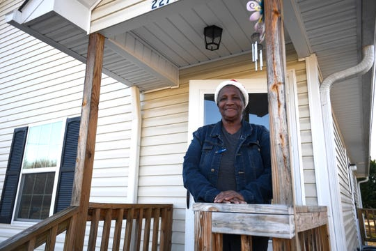 Grace Blake has lived in her home for almost a year now in Jackson. Her home is a part of the Jonah Affordable Housing organization.