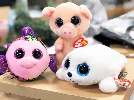 Bin Barn owner Lindsey Wilson said these small stuffed toys have been wildly popular with her shoppers.