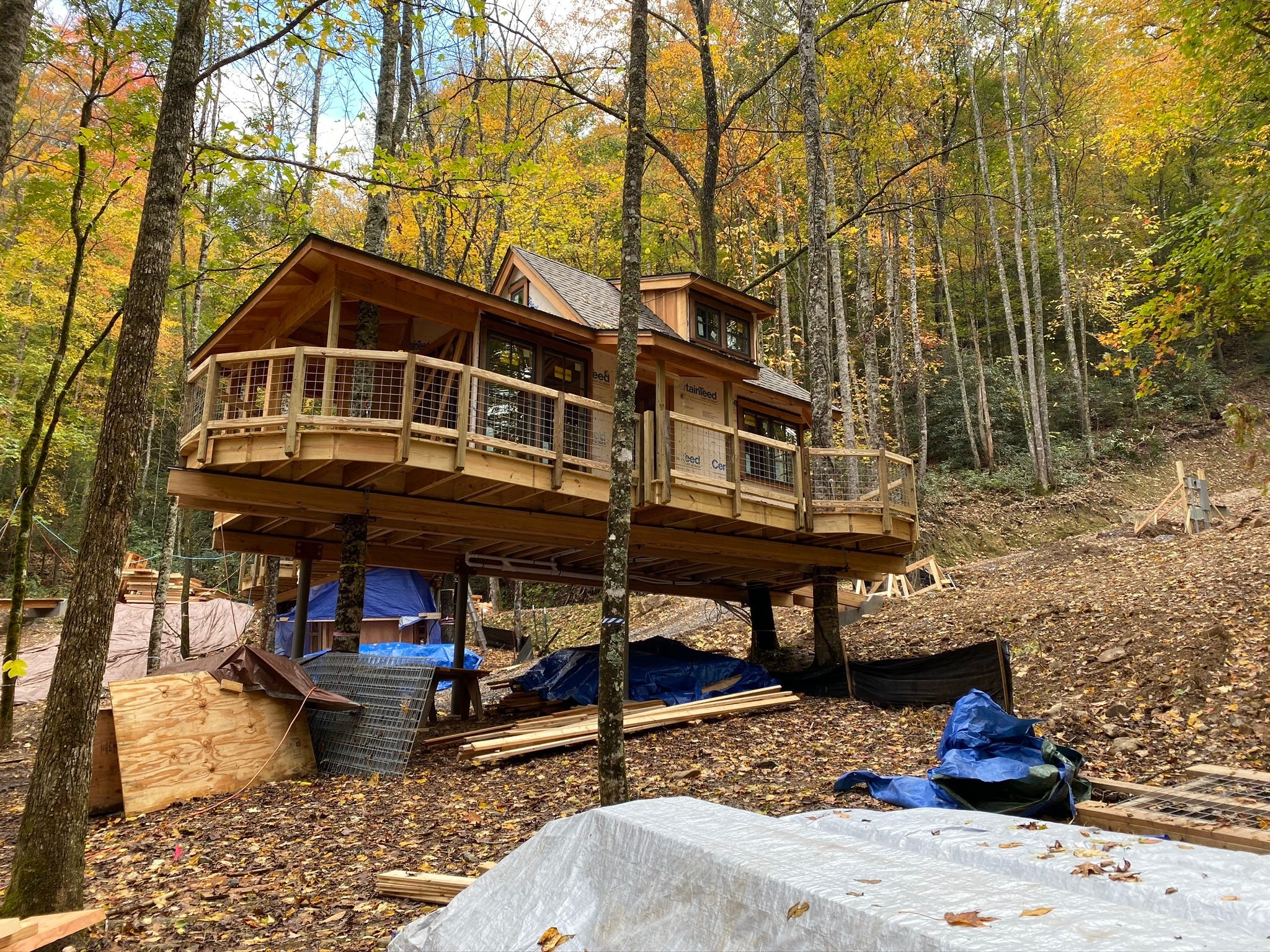 Treehouse Master Pete Nelson Building Rentals In Gatlinburg
