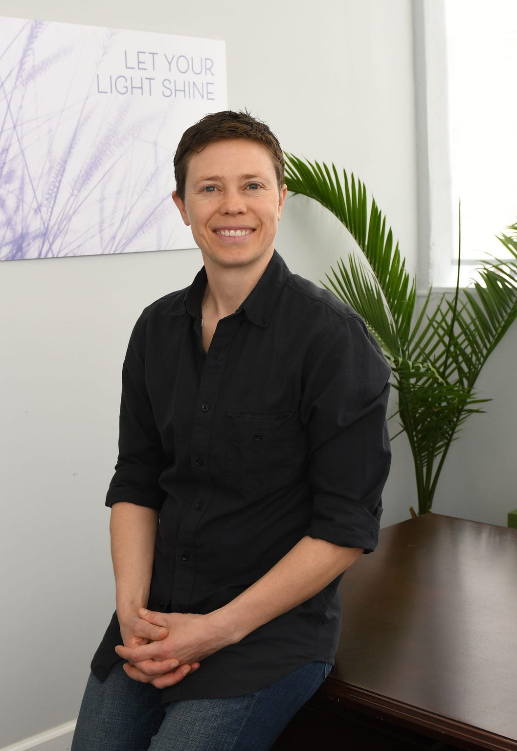Dr. Izzy Powell, founder of QueerMed, which operates in part as a pop-up clinic providing hormone replacement therapy for transgender and non-binary people.