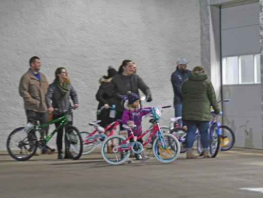Money raised by the Shelby Bicycle Days Spokes4Kids, along with a donation from Walmart, paid for 49 bikes that will brighten the Christmas of kids in need.