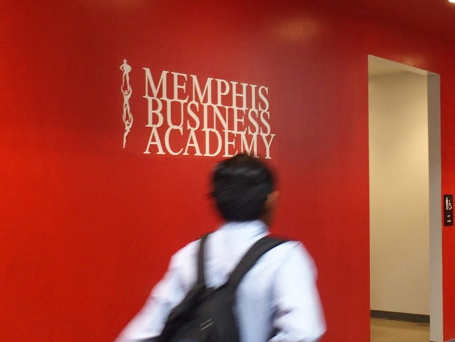 About 1,000 middle and high school students are enrolled at Memphis Business Academy's campus in Frayser.