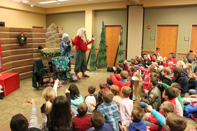 Come see the Arkansas Arts Center's Children's Theatre's rendition of A Christmas Carol at the Baxter County Library on Saturday at 10:30 a.m.