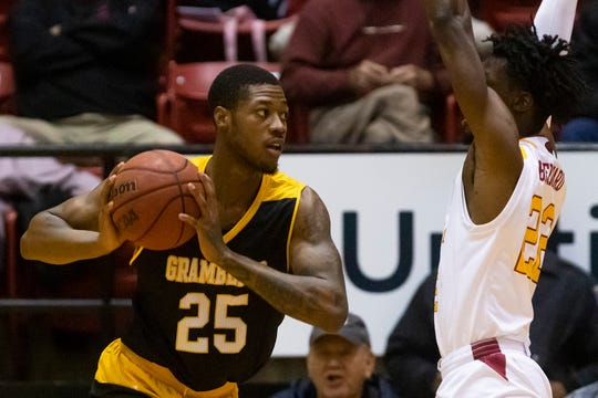 Grambling defeated University of Louisiana at Monroe 66-61 at Fant-Ewing Coliseum in Monroe, La. on Dec. 10.