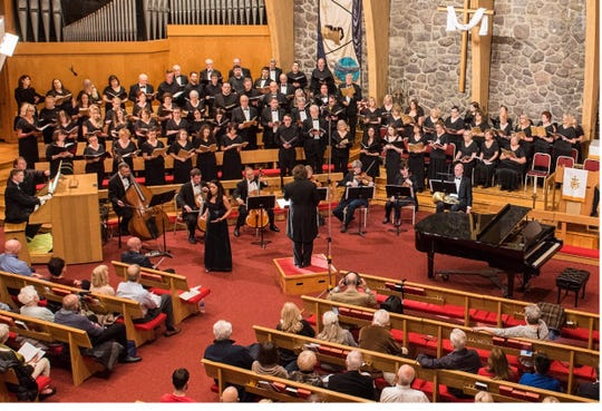 The Morris Choral Society performs its annual Holiday Spectacular Concert Saturday and Sunday, Dec. 14-15, at the Morristown United Methodist Church.