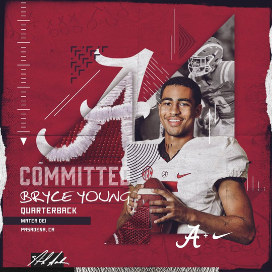 Bryce Young - Committed To Alabama