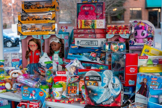 Toys collected during the Valerie Kemp Toy Drive will benefit needy families during the holidays.