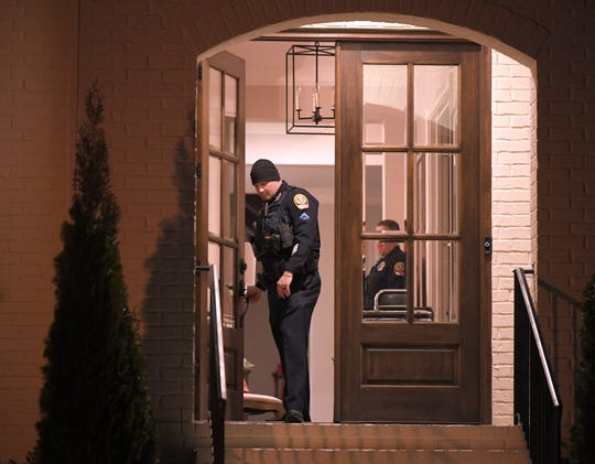 Franklin police investigate after a mother and son were found dead in their home Tuesday.