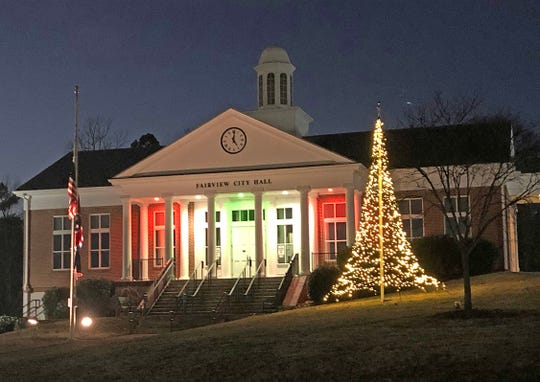 This year the City of Fairview opted to try a more efficient Christmas tree, to mixed responses from the community.