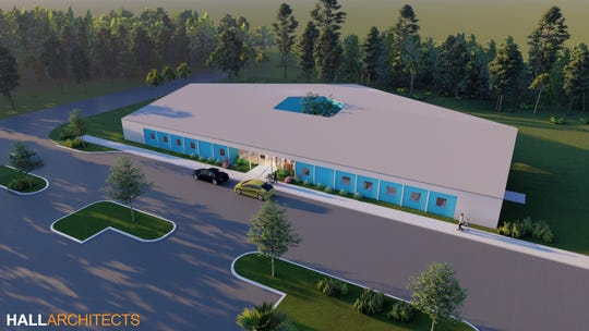 The Early Learning Center at the SKY Family YMCA, set to open late July, will sit in the south end of the YMCA site.