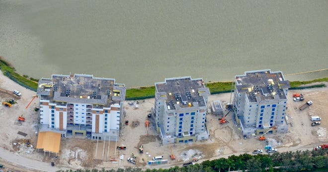 The first three buildings at Moorings Park Grande Lake are scheduled to be completed in Spring 2020.