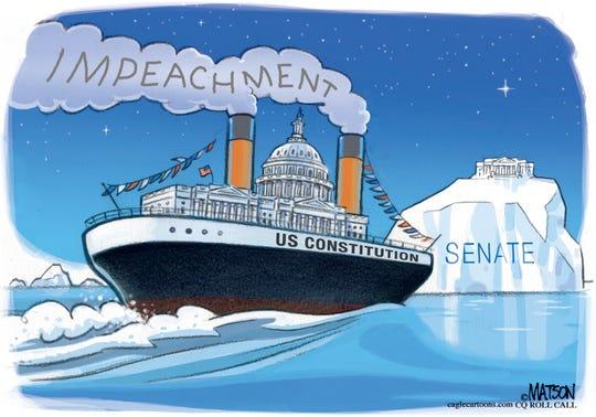 Impeachment iceberg.