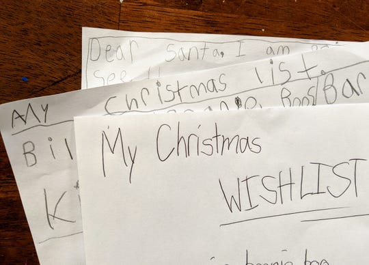 Abbey asks Santa for what she really wants, but Santa offers a reasoned response to her wishes.