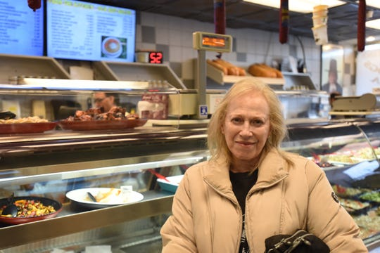 Linda Topper from Paramus shops at the Kosher Nosh in Glen Rock on Wednesday December 11, 2019. Topper talks about her reaction to the shooting at a Jersey City Kosher store.