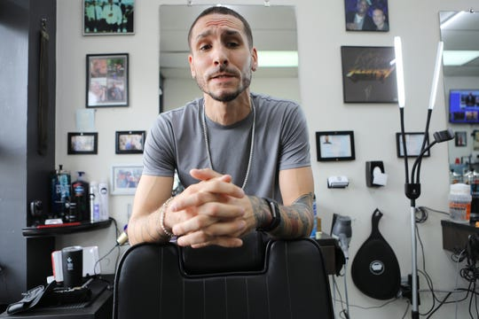 Ryan Esposito, Owner and Master Barber, of Empire Barbershop talks about  Detective Joseph Seals.  Although Esposito didn't know the detective well, he said that he seemed to be a good family man and a good guy.  Esposito used to cut Seals' hair, just down the block from the detective's home.   Seals, who worked with the Jersey City Police Department, was killed in the line of duty on Tuesday. Wednesday, December  11, 2019