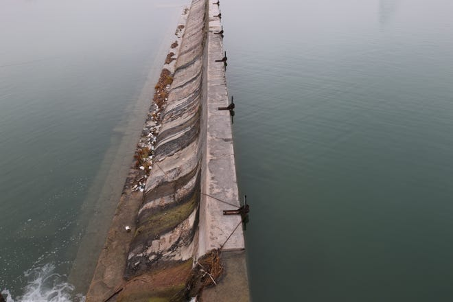 New flood gates are set be installed in 2020 along the Upper Tansil Dam.